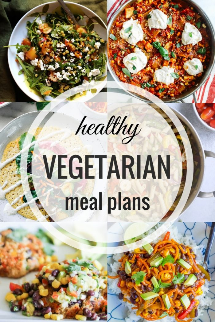 Healthy Vegetarian Meal Plan Week of 852017  Hummusapien