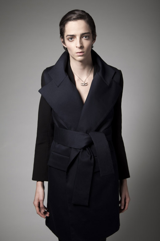 vest and blazer Rad Hourani