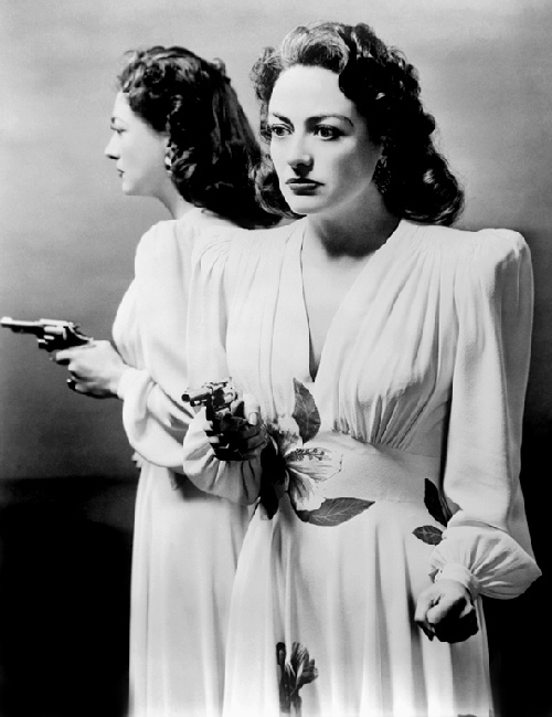 With her big shoulder pads and balsy attitude Joan Crawford was an 80's inspiration.
