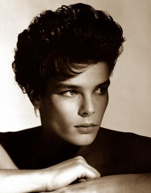 Boyish looks and a Pricesss, Stephanie de Monaco in the 80s