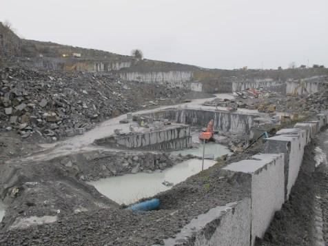 Threecastles limestone quarry pit