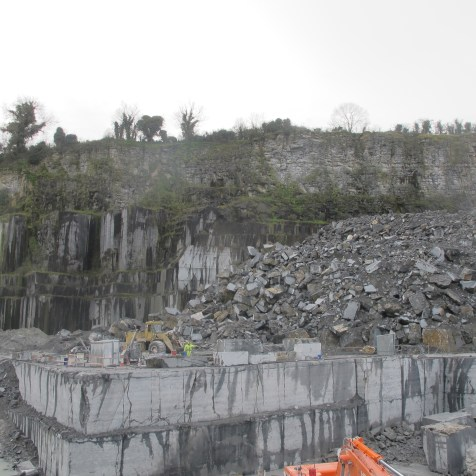 Limestone extraction