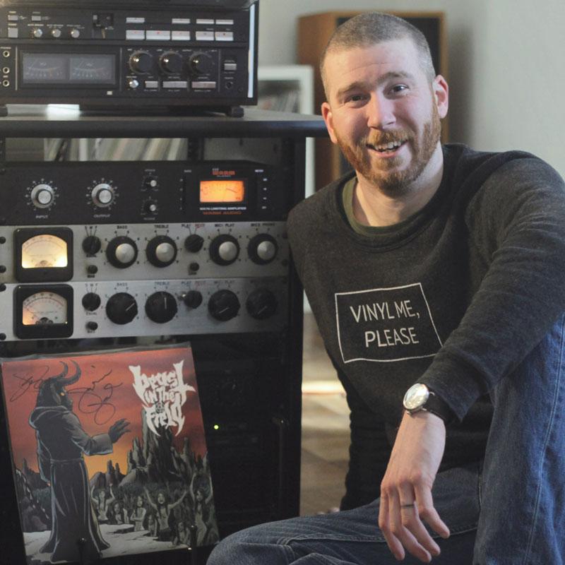 Mitch Anderson | Making Vinyl