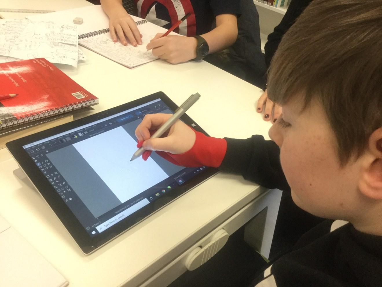 Splash Panel attended using iPad and Apple Pencil.