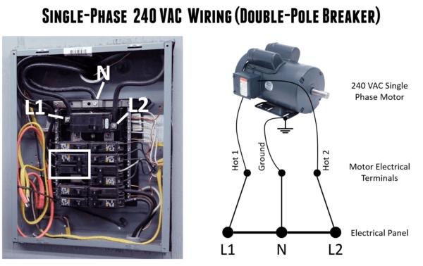 240 Vac Wiring