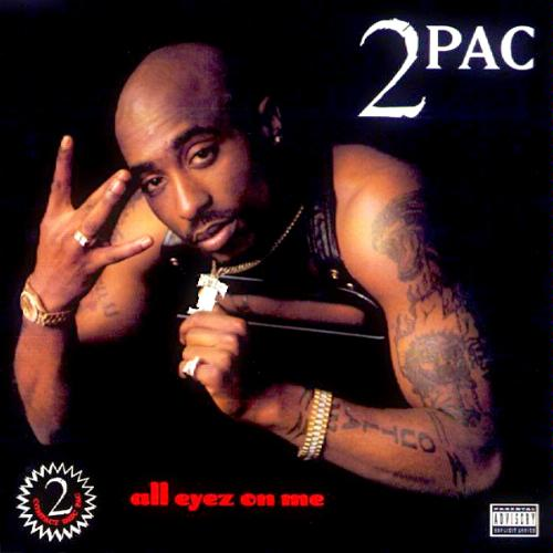 2 PAC - All Eyes On Me Album Cover