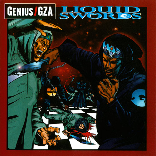 GZA - Liquid Swords Album Cover