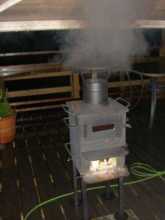 薪 オーブン