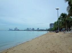 パタヤのビーチ