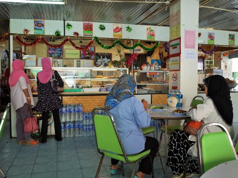 ハジャイのムスリム食堂