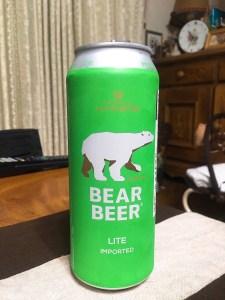 HARBOE BEAR BEER LITE 500ml 321円