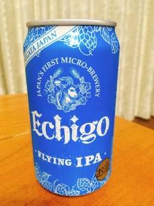 エチゴビール FLYING IPA 350ml(裏)
