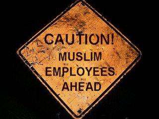 Muslim Employees Ahead
