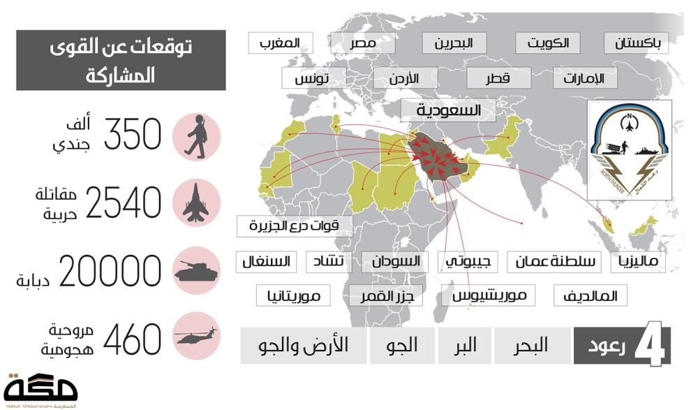 جيوش 20 دولة تتحد في رعد الشمال صحيفة مكة