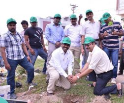 Tree plantation by Petrofac, Rotary