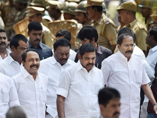 Governor's review meeting Oppn slam, AIADMK & BJP support