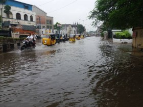Rains back in Chennai, leave declared for schools