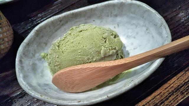 かしみんの抹茶アイス