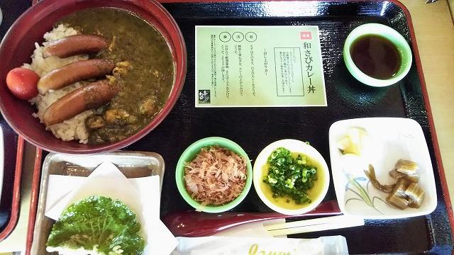 大王わさび農場レストラン 和さびカレー丼
