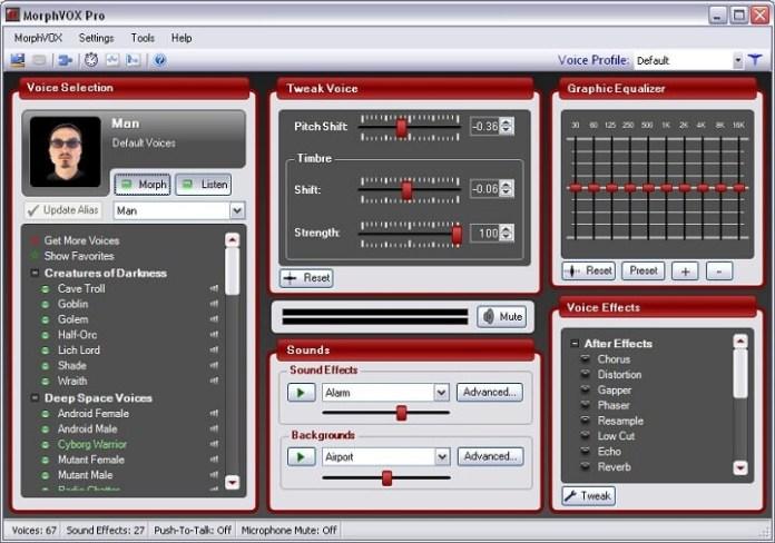 MorphVox Voice modifier for discord