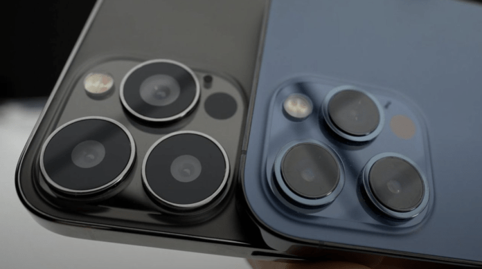 iPhone 13 Series camera comparison with iPhone 12 series