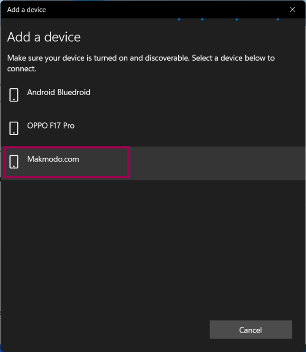 bluetooth features on Windows 11