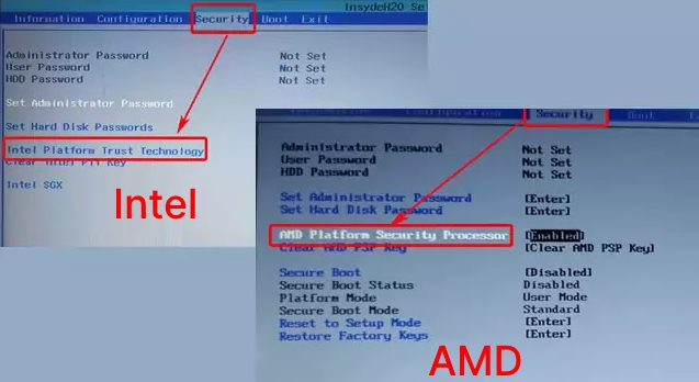 How to Enable TPM in BIOS Lenovo