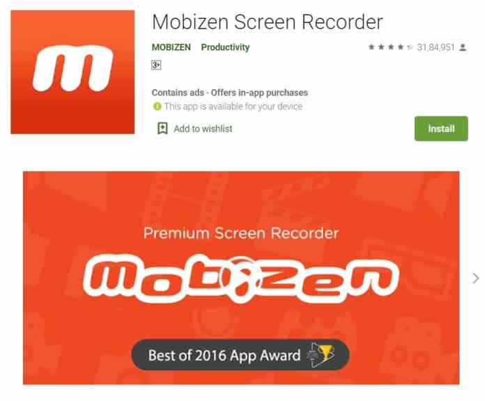 Download Reels from Instagram on Android through Screen Recording using Mobizen