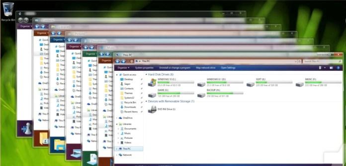 Aero Glass theme for Windows 11