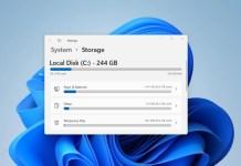 enable storage sense in windows 11