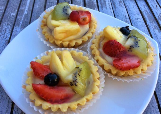 resep membuat kue pie buah