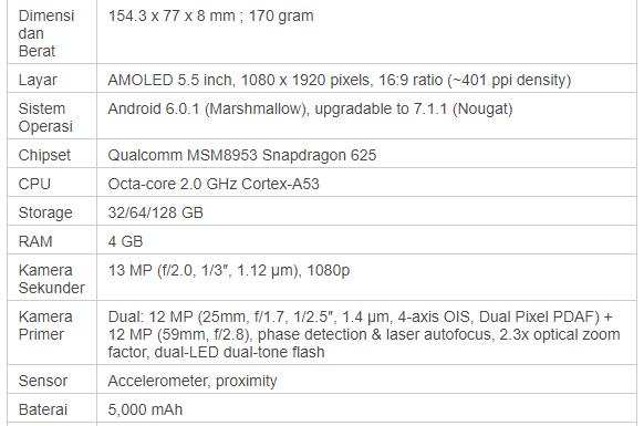 spesifikasi zenfone zoom S