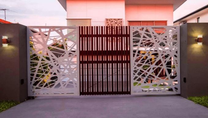 model pagar rumah