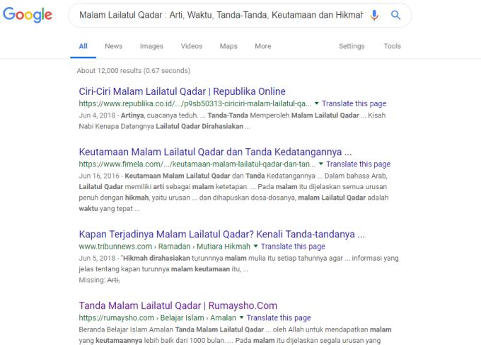 cara sumit url google terbaru