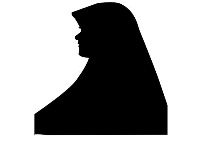 gambar hitam siluet