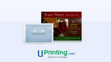 Uprinting invitations