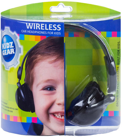 Kidz Gear Wireless Car Headphones for Kids