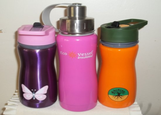 Eco Friendly Filtered Water Bottles From Eco Vessel