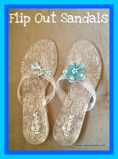 Flip Out Sandals Interchangeable Shoe Jewelry Review