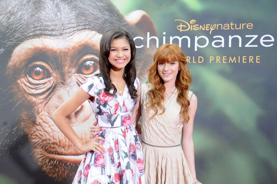"World Premiere Of ""Chimpanzee"" at Disney World Orlando"