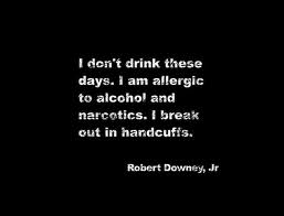 Funny Robert Downey Jr Quote