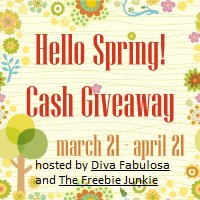 Win $850 Cash Hello Spring! Cash Sweepstakes at Diva Fabulosa