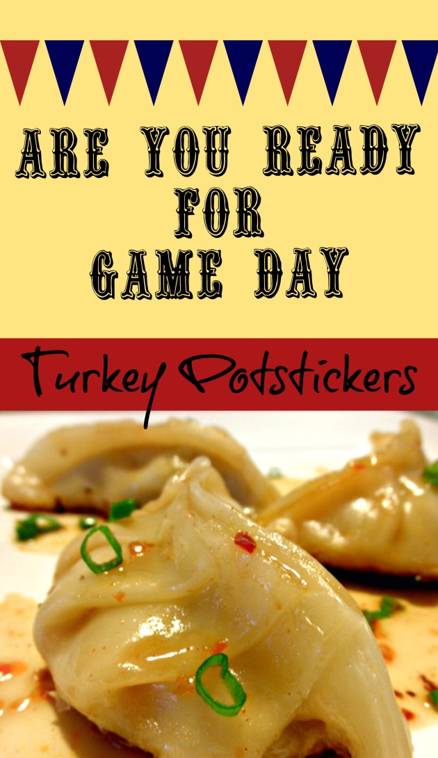 Turkey Potstickers Appetizers