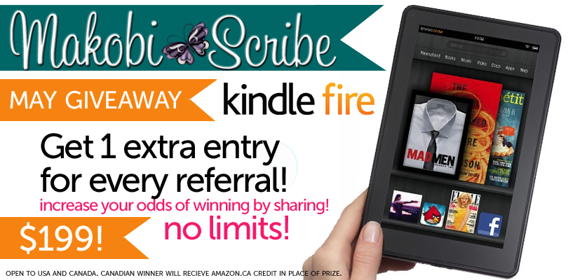 May Kindle Fire Sweepstakes