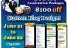 blog design blow out