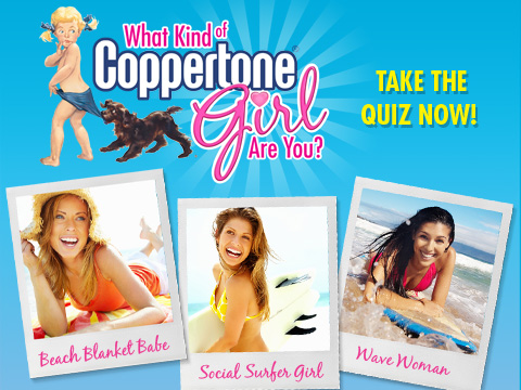 What Kind of Coppertone Girl Are You