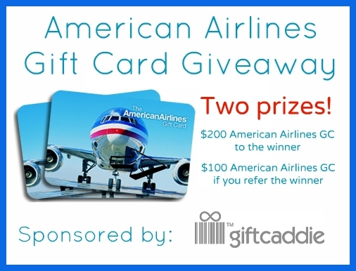 American Airlines Gift Card Sweepstakes