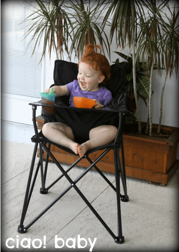 Astounding Portable Baby High Chair From Ciao Baby Review Makobi Scribe Gmtry Best Dining Table And Chair Ideas Images Gmtryco