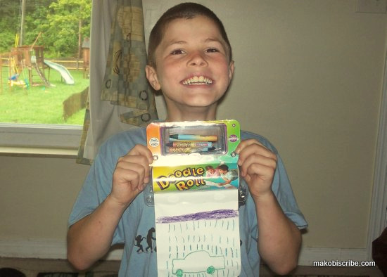 Portable Art Kit For Kids From Doodle Roll Sweepstakes