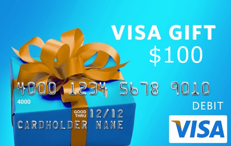 Win a $100 Visa Gift Card from RewardIt Sweepstakes